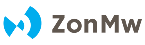 ZonMw logo, partner van Universiteitmetdebuurt